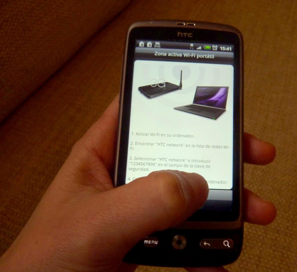 Activar Zona Wifi con el móvil