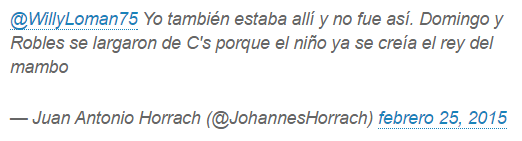 Horrach insulta a Rivera en Twitter